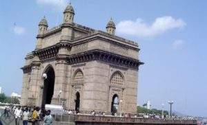Gateway of India on the Wellington Pier ( also known as Apollo Bunder)