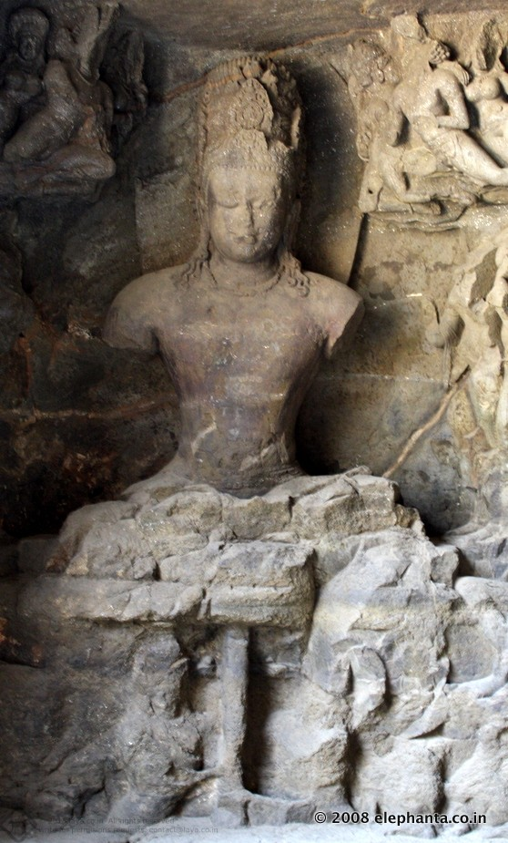 Mahayogi Image of Elephanta