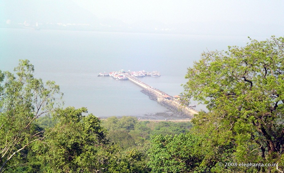 Elephanta Jetty view