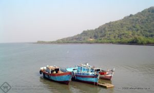 Fishing Boats in Elephanta Island