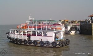 Launch in Elephanta