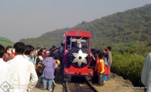 Toy train Station in Elephanta